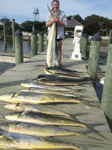 Ocracoke Charter - Great Mahi Day!